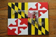 State Flag String Art  State Nail Art  by herringdesignco on Etsy, $85.00