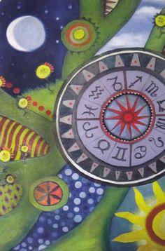 Wayfarer Tarot - Wheel of Fortune