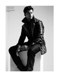 sean opry dr4 Sean OPry Poses with Confidence for El Libro Amarillo Fall/Winter 2012