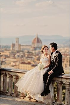 An international wedding in Florence. The story of Serena & Kenji
