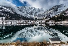 Full Reflection, Balestrand, Norway by Europe Trotter