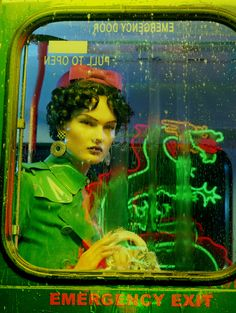 Vogue Italia - Bus Stop - Miles Aldridge - Editorial - Miles Aldridge - 2b Management