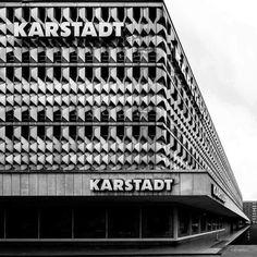 "socialistmodernism: ""Centrum Warenhaus, Magdeburg, Germany, built between 1970-3, Architect: Karl-Ernst, Anne-Monika Zorn © BACU #socialistmodernism #_ba_cu #socheritage """