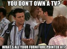 Joey is hilarious