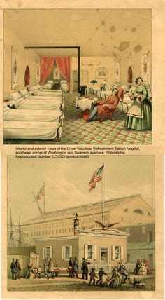 """""""The boys say they will hollar """"Miss Hancock"""" as soon as they fall. It will be awful to see the next battle...The [wounded & sick] men are coming on to Philadelphia, [after the Gettysburg battle] some every week. I cannot into any hospital without someone calls me by name."""" Cornelia Hancock, Civil War Nurse, Philadelphia, Sunday, Sept 1863 http://www.barnesandnoble.com/w/a-soldiers-friend-civil-war-nurse-cornelia-hancock-georgiann-baldino/1028960727"""