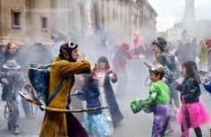 Actuación en el Carnaval Infantil de Zaragoza 2015  - K de Calle, Teatro-Animación