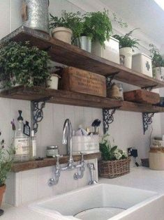 French Country Style Kitchen Decoration Ideas 17