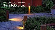 Der Sommer kann kommen! Passende Gartenbeleuchtung gibt's bei KS Licht