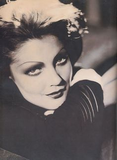 Drew Barrymore as Myrna Loy ~ Face Forward by Kevyn Aucoin, 2000