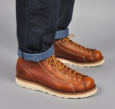LACE-TO-TOE ROOFER BOOT #814-4233, TOBACCO :: HICKOREE'S