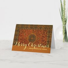 Bachlorette Invitations, Holiday Cards, Christmas Cards, William Morris, Smudging, Paper Texture, Carpet, Merry, Tapestry