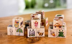 Adorable method for making story cubes