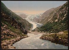 [Buerbrae (i.e., Buarbreen) Glacier, Odde (i.e. Odda), Hardanger Fjord, Norway]      Repository: Library of Congress Prints and Photographs Division Washington, D.C. 20540 USA http://hdl.loc.gov/loc.pnp/pp.print