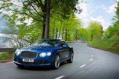 Citius, altius, Bentley GT Speed.