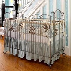 Country French Iron Crib #Glimpse_by_TheFind