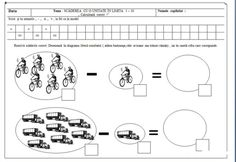 fise matematica dificultate ridicata 5-7 ani   Cu Alex la gradinita Math For Kids, Worksheets, Math Equations, Education, Literacy Centers, Onderwijs, Learning, Countertops