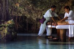 Xcaret Xpa Mexico…my best experience in a natural spa, under a cave, hearing nature sounds, waterfalls…it was surreal!