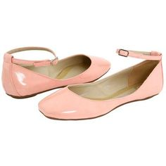 Cute shoes! I love pink. I love flats. I love ankle straps. I can't wear heels because of two surgeries. I love these.