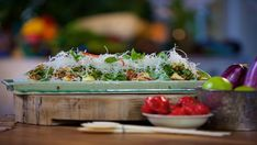 Look at this recipe - Bamboo Salad with Crispy Noodles - from Reza Mahammad and other tasty dishes on Food Network.