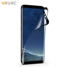 Vrurc Phone Film For Samsung Galaxy S8 S8 Plus Screen Protector PET Clear HD Transparent Screen Guard film //Price: $2.02//     #storecharger