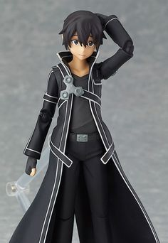 anime action figures | figma - Kirito(anime/manga action figure)/Aikoudo -Action Figure ...