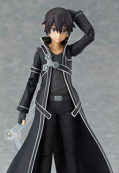 anime action figures | figma - Kirito(anime/manga action figure)/Aikoudo -Action Figure ...