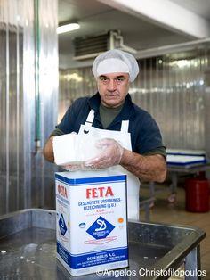 Fetaherstellung in Griechenland. Zu Besuch bei George Dedempilis in Korinth.