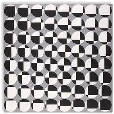 Francisco SOBRINO (1932-2014), obra 4070, Témpera sobre tabla, 72,7 x 72,7 cm, 1959
