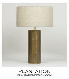Finnerty Brass Table Lamp