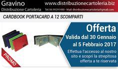 OFFERTA VALIDA DAL 30 GENNAIO AL 5 FEBBRAIO Consegna in tutta Italia Per vedere i prezzi clicca qui: http://shop.distribuzionecartoleria.biz/specials.html