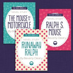 Ralph the Mouse Bundle - by Beverly Cleary - Novel Study