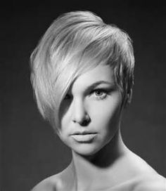 pixie haircut long front short back - - Yahoo Image Search Results