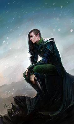 Rythe, son of Harte and Ilsenia. (Near his death).