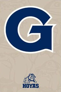 Georgetown Hoyas Official Athletics Logo Poster - NCAA