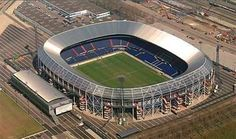 Stadium De Kuip, home to soccer club Feyenoord