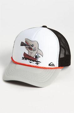 Quiksilver 'Terg Ferg' Trucker Hat (Boys) available at #Nordstrom