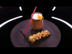 Canistrellis sucrés, milkshake chocolat-orange par Christophe Michalak (#DPDC) - YouTube