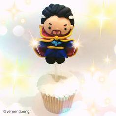 Strange Birthday Cupcake. Happy 40th Birthday Benedict Cumberbatch! 7/19/16