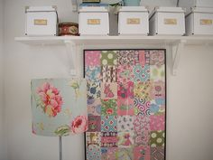 Vintage lampshades and Patchwork - Teawagontales blog