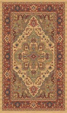 Ziegler Classic Persian Style Rug. Beige 8788