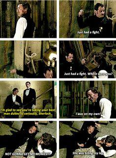 Drunk Watson is the best Watson.