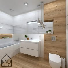 Scope of the project: KRU Design bathroom Attic Bathroom, Bathroom Toilets, Wood Bathroom, Bathroom Renos, Bathroom Furniture, Small Bathroom, Bad Inspiration, Bathroom Inspiration, Modern Bathroom Design