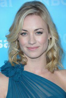 Yvonne Strahovski. She was amazing on Chuck and I'm looking forward to seeing where she goes from here.