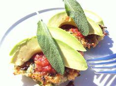 vegan quinoa cakes