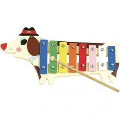 Vilac- Métallophone toutou Ingela P. Dog Toys, Baby Toys, Instruments, Retro Kids, Musical Toys, Toys Shop, Activity Games, Activities, Sell Items