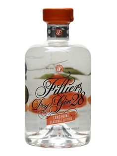 Filliers' Dry Gin 28 Tangerine Seasonal Edition uses the standard unflavoured recipe as the base, with the addition of tangerines from Valencia.  Sounds good to us...