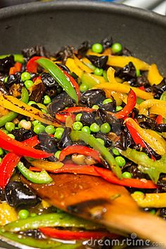 Vegetable stir fry