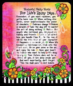 Image detail for -Suzy Toronto Wonderful Wacky Words Life's Rainy Days Mousepad