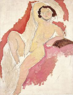 Henri Matisse (French, 1869–1954) Seated Nude, 1909 Oil on canvas; 45 9/16 x 35 1/16 in. (115.7 x 89 cm)