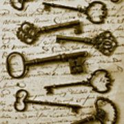 Old keys on letter Art Print by Garry Gay. All prints are professionally printed, packaged, and shipped within 3 - 4 business days. Choose from multiple sizes and hundreds of frame and mat options. Fine Art Photo, Photo Art, Photography Institute, Canvas Letters, Old Keys, Sparks Joy, Photographic Studio, Gay Art, Letter Art
